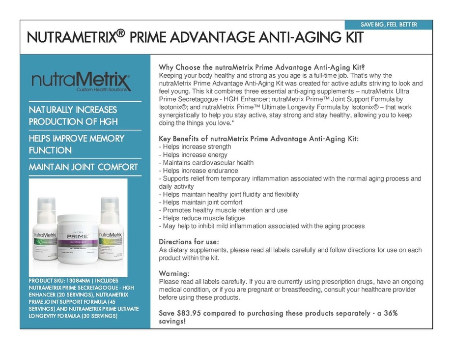 Anti-Aging Kit - Aculinks Acupuncture